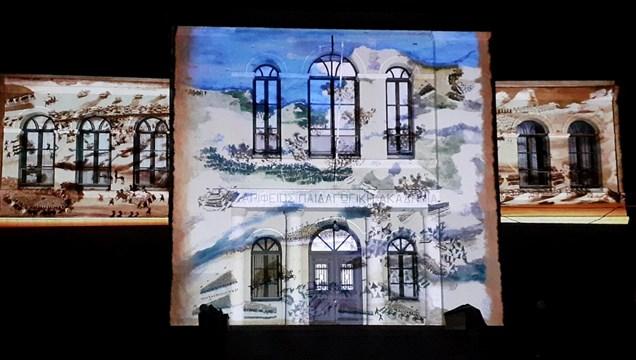 """""""Επιθυμία Ελευθερίας""""- H Ελληνική Επανάσταση «ζωντάνεψε» σε κτίρια 18 πόλεων σε όλη την Ελλάδα"""