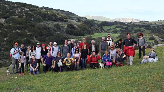 Πρόγραμμα περιπατητικών διαδρομών της Ομάδας Πεζοπόρων Σύρου Μαΐου