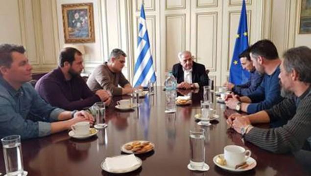 Συνάντηση για το Νεώριο στο υπουργείο Επικρατείας