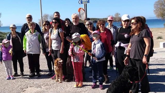 Πρόγραμμα περιπατητικών διαδρομών της Ομάδας Πεζοπόρων Σύρου Ιανουαρίου