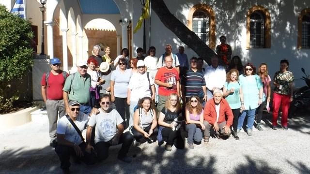 Έναρξη περιπατητικών διαδρομών της Ομάδας Πεζοπόρων Σύρου