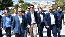 Στην Σύρο ο Πρόεδρος της Νέας Δημοκρατίας, Κυριάκος Μητροτάκης