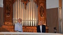 Tο εκκλησιαστικό όργανο του Καθεδρικού Ναού του Αγίου Γεωργίου Άνω Σύρου