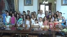 Εκδήλωση προς τιμή των μικρών εθελοντών ξεναγών της Ερμούπολης και της Άνω Σύρου