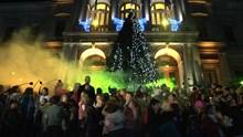 Φαντασμαγορική η έναρξη των Χριστουγεννιάτικων εκδηλώσεων