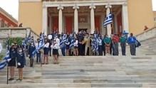 Ο εορτασμός της 28ης Οκτωβρίου στη Σύρο