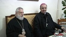 Επίσκεψη των δύο Μητροπολιτών σε ευαγή ιδρύματα της Σύρου