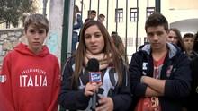 Διαμαρτυρία μαθητών γυμνασίου