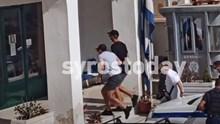 Στο Αστυνομικό Τμήμα της Σύρου ο αρχηγός της Μάντσεστερ Γιουνάιτεντ