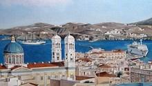 Εγκαίνια της έκθεσης ζωγραφικής «Αναδρομική 2015» του Γιώργου Κανάκη