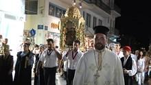 Λαμπρός Εορτασμός της Κοιμήσεως της Θεοτόκου στην Ερμούπολη