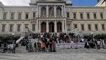 Διαμαρτυρία για το νομοσχέδιο για τα ζώα συντροφιάς