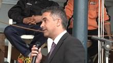 Ο Δήμαρχος Γιώργος Μαραγκός στο Νεώριο