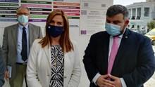 H Υφυπουργός Ψυχικής Υγείας κ. Ζωή Ράπτη στο Νοσοκομείο Σύρου - Δηλώσεις