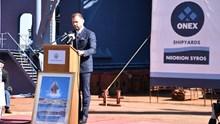Η ομιλία του Πάνου Ξενοκώστα στα εγκαίνια της δεξαμενής «ΒΙΟΛΑΝΤΩ»