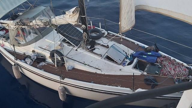 Διάσωση ακυβέρνητου σκάφους από το  Ρ/Κ ΜΕΓΑΛΟΧΑΡΗ Χ
