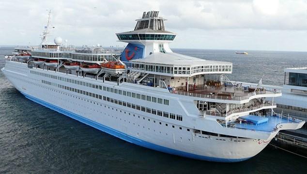 """Στο Νεώριο το κρουαζιερόπλοιο """"Celestyal Olympia"""""""
