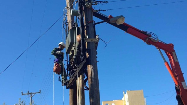 Διακοπή ηλεκτροδότησης λόγω αναγκαίων εργασιών αποκατάστασης βλάβης στο δίκτυο