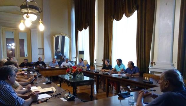 Τελευταία συνεδρίαση επί Δημαρχίας Γιώργου Μαραγκού