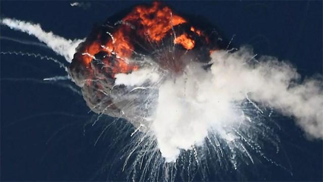 Καταστροφή του πυραύλου που μετέφερε τους ελληνικούς μικροδορυφόρους