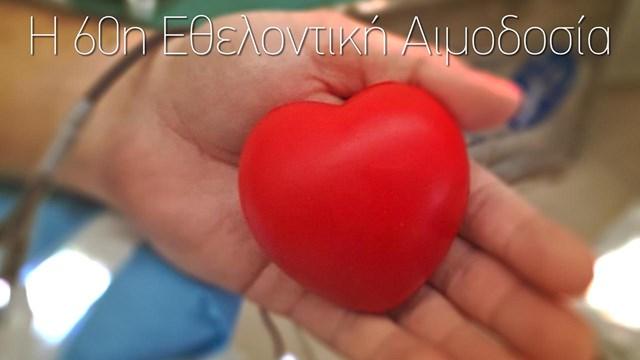 Ο Δήμος Θήρας για την 60η Εθελοντική Αιμοδοσία