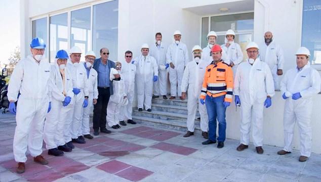 Η Σύρος στο εργοστάσιο αστικών στερεών αποβλήτων του Δήμου Χανίων
