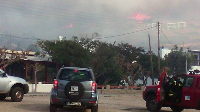 Πυρκαγιά στην Άνδρο