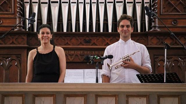 Εμβληματικά έργα για εκκλησιαστικό όργανο και τρομπέτα από την  οργανίστα Ουρανία Γκάσιου και τον τρομπετίστα Δημήτρη Γκόγκα