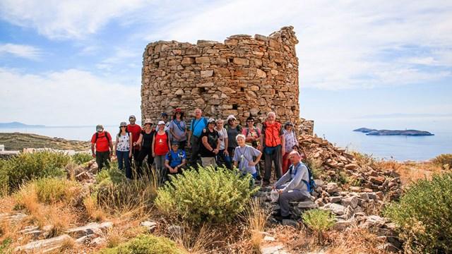 Καλοκαιρινό πρόγραμμα περιπατητικών διαδρομών της Ομάδας Πεζοπόρων Σύρου