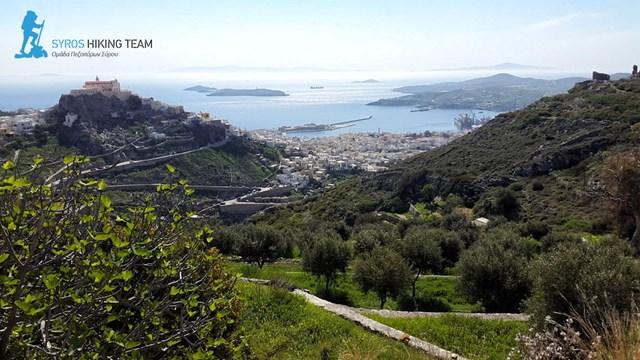 Πρόγραμμα περιπατητικών διαδρομών της Ομάδας Πεζοπόρων Σύρου Απριλίου