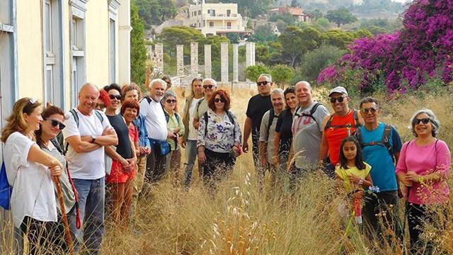Πρόγραμμα περιπατητικών διαδρομών της Ομάδας Πεζοπόρων Σύρου Ιουνίου