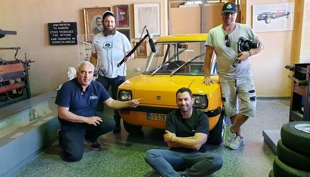 Jet Tour Greece: Το ηλεκτροκίνητο αυτοκίνητο που φτιάχτηκε στη Σύρο