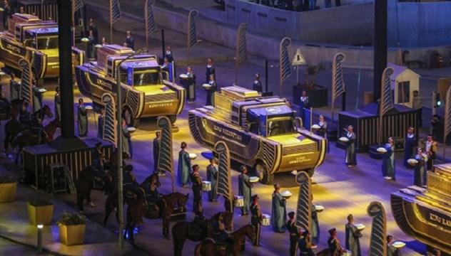 Αίγυπτος: Λαμπρή πομπή με 22 μούμιες Φαραώ