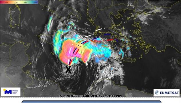 Κακοκαιρία «Ιανός»: Θυελλώδεις άνεμοι και καταιγίδες