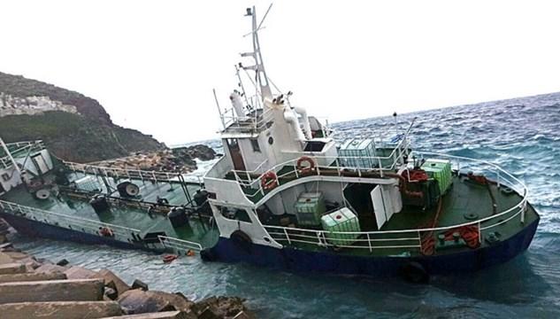 """""""Άμεση παρέμβαση της πολιτείας για την προσάραξη του πλοίου με 196 πρόσφυγες και μετανάστες στην Κέα"""""""