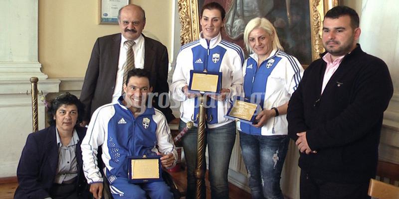Στην Σύρο τρεις Ολυμπιονίκες