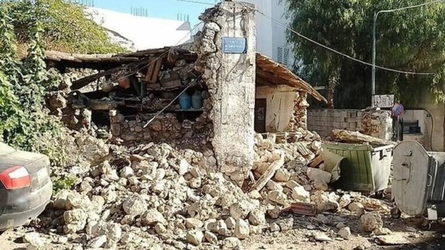 Κρήτη: Πάνω από 1.000 πέτρινα κτίσματα κρίνονται ακατάλληλα από τον σεισμό