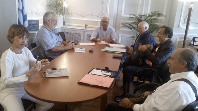 Συνάντηση εργασίας για την πορεία των έργων και μελετών του Δήμου Ανάφης