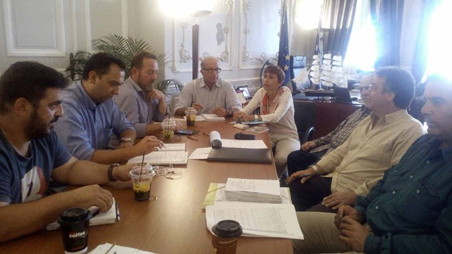 Συνάντηση εργασίας του Αντιπεριφερειάρχη Κυκλάδων με τον Δήμαρχο Κύθνου
