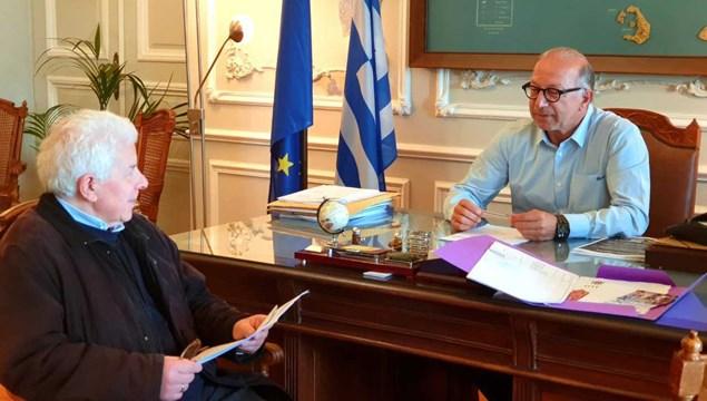Συνάντηση με τον Πρόεδρο του Συνδέσμου Ελλήνων Καθολικών Σύρου