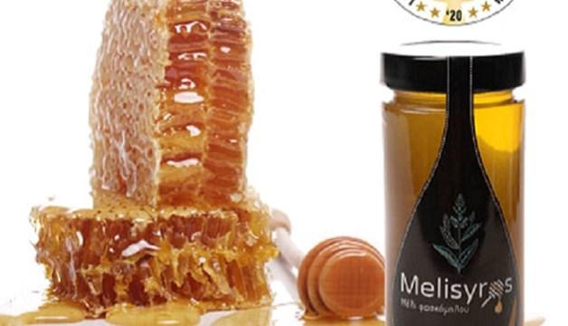 """Το Συριανό μέλι """"Μελίσυρος"""" απέσπασε τα πρώτα βραβεία σε διαγωνισμό του Λονδίνου"""