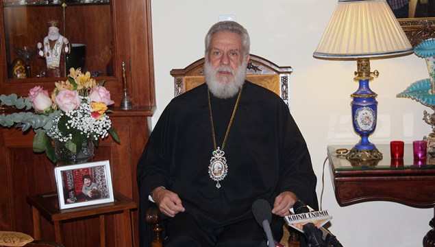 """""""Ας προσευχηθούμε όλοι στην Παναγία, ώστε να ευαγγελισθεί γρήγορα το τέλος της πανδημίας"""""""