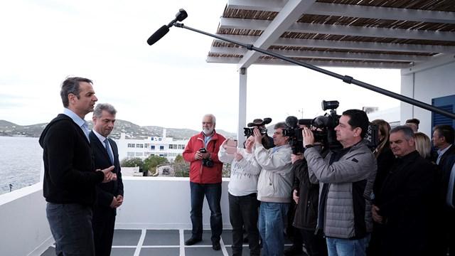 Επίσκεψη του Προέδρου της Νέας Δημοκρατίας στη Νάξο
