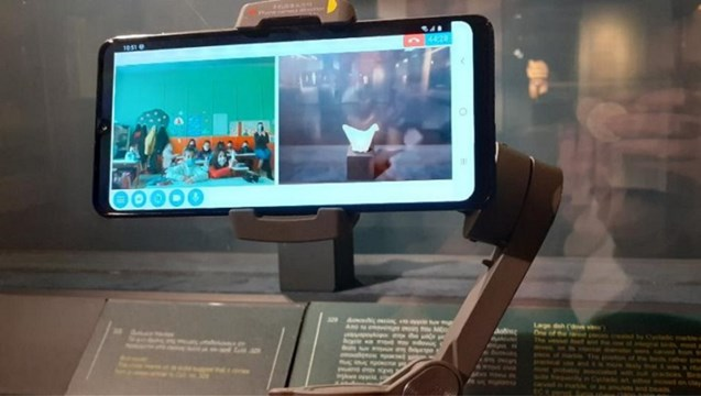 «Zoom στα σχολεία»: Διαδικτυακές ξεναγήσεις σε μαθητές από το Μουσείο Κυκλαδικής Τέχνης