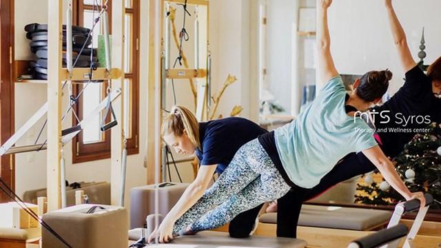 Νέα θεραπευτικά προγράμματα άσκησης Clinical Pilates στο Κέντρο Φυσικοθεραπείας MTS Σύρου