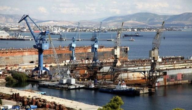 """Συνεδρίαση της """"ΝΕΩΡΙΟΝ"""" για τη μεταβίβαση του ναυπηγείου Ελευσίας"""