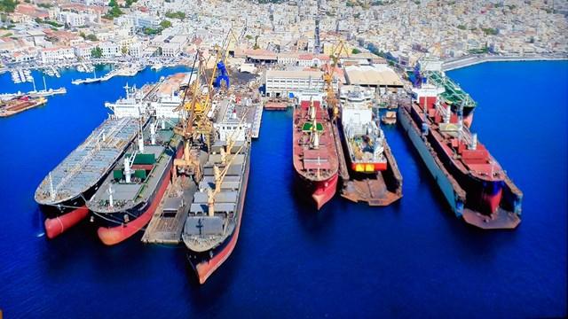 """Ναυπηγείο """"Νεώριον"""": Νέα δεξαμενή και επιπλέον 50 πλοία στο πελατολόγιο ετησίως"""