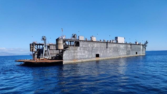 Στο Νεώριο για επισκευή η πρώτη δεξαμενή του Πολεμικού Ναυτικού