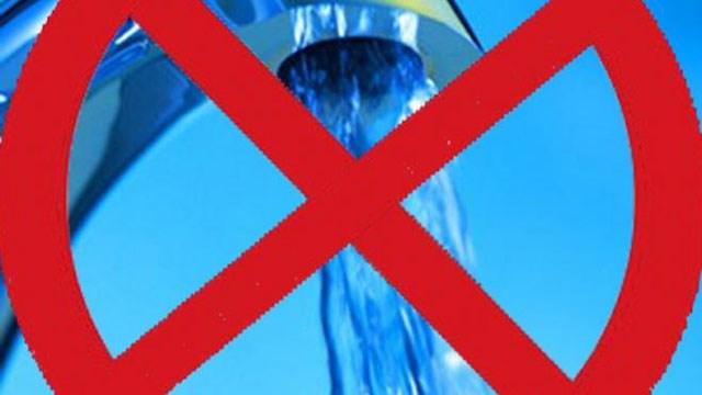 Διακοπή νερού στην Ερμούπολη