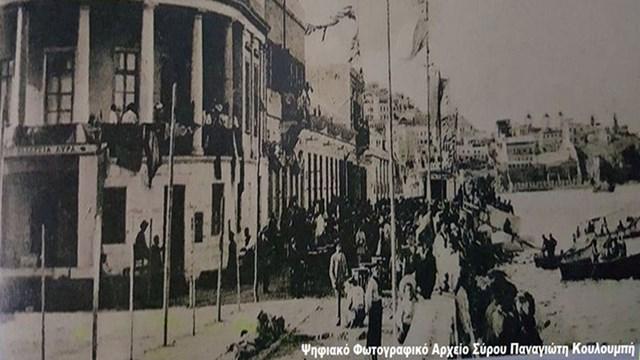 Το ξεχασμένο κτήριο του Pietro Sampo στο Νησάκι στην Ερμούπολη